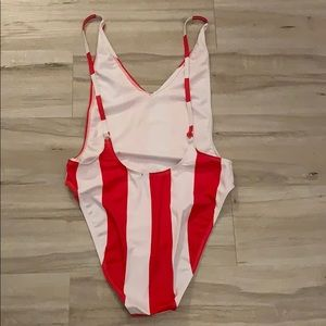 Nasty Gal Swim - NWOT Nasty Gal Alina High-Leg Swimsuit
